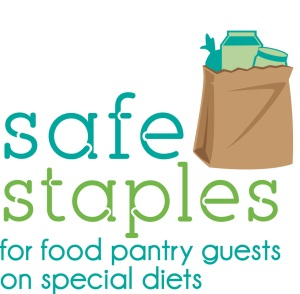 safe staples for food pantry guests on special diets, food allergies, celiac disease