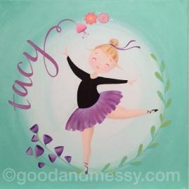 Acrylic on canvas, Bridget Bond
